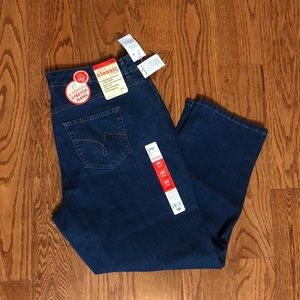 Just my size cobalt wash jeans 18 short new